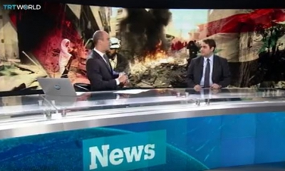 TRT World - Interview with Dr. Sinan Hatahet on Cessation of Hostilities and Truces I Syria