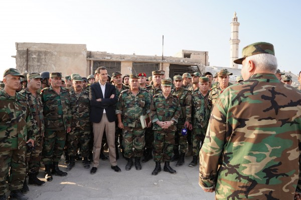 Power Centers in the Syrian Army: A Sectarian Approach