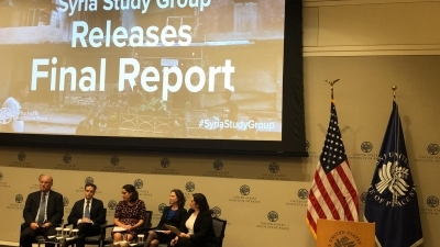 Discussion Session: about the final report for the Syria Study Group (SSG).