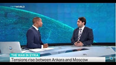 TRT World - Interview with Dr. Sinan Hatahet On Tensions Between Russia and Turkey