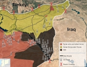 Mapping the Battle Against ISIS in Deir Ezzor