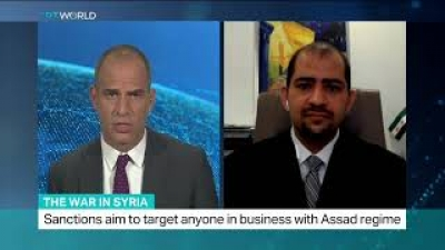 "Dr. Ammar Kahf | US sanctions on Assad regime ""Caesar Act"""