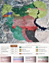 "Map of Control and Influence: Aleppo Province ""9 June 2017"""