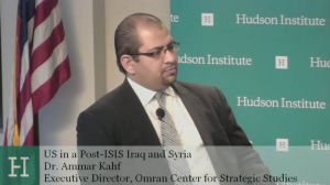 US in a Post-ISIS Iraq and Syria:Realigning Allies and Constraining Adversaries