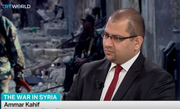 TRT World - Interview with Dr. Ammar Kahf on Currents in Syria